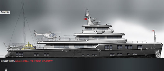 EXPLORER 50M BY BARRACUDA YACHT DESIGN